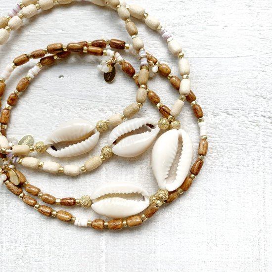 〈Cowry shell Anklet〉