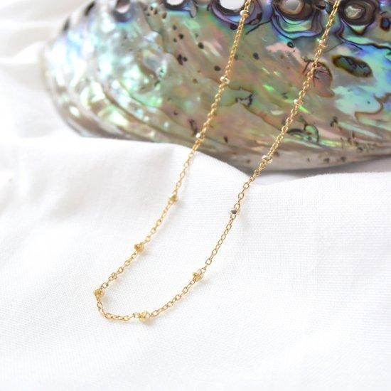 〈Sparkle chain〉14KGF necklace