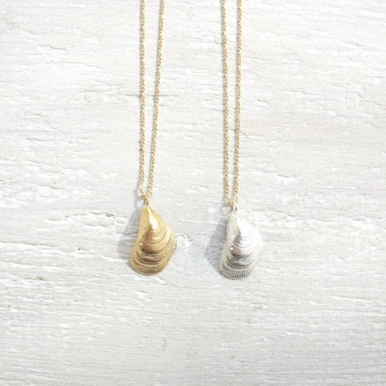 〈Nudie shell necklace〉