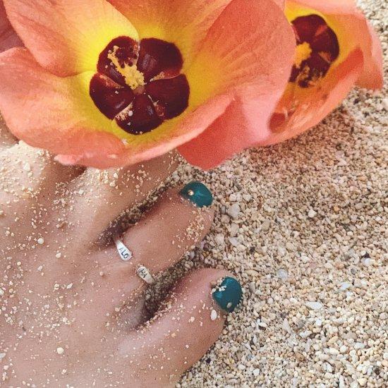 〈Toe ring〉ALOHA