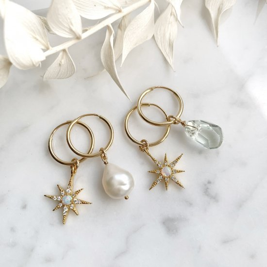 〈Import select charm 〉Starlight hoop