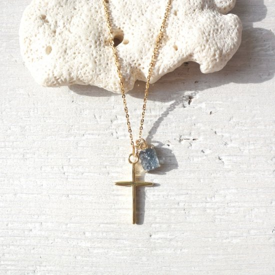 〈Import select charm Necklace〉Cross×Montana