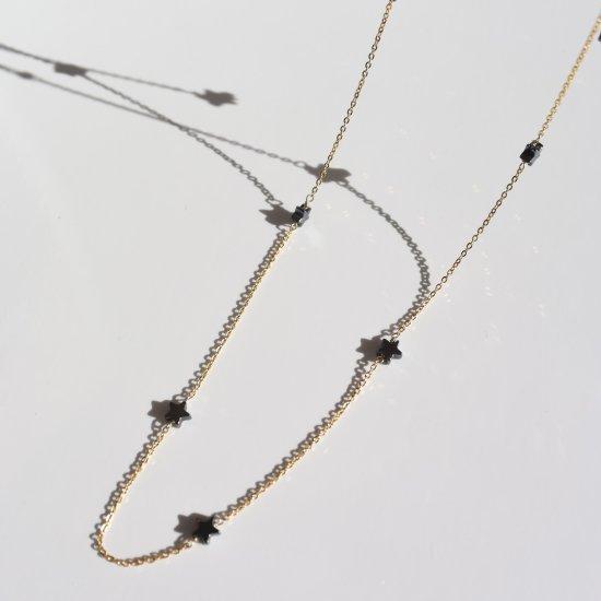 〈Black star necklace〉
