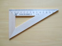 木製三角定規