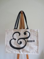 Magasin Mad & Vin ジュートバッグ