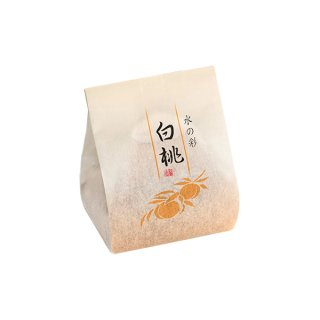 水の彩 白桃1個(夏の和菓子)