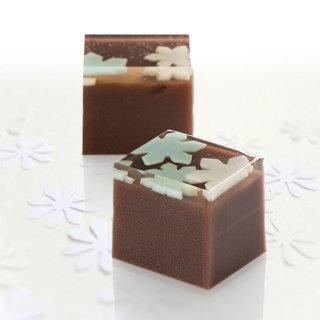 季節の棹菓子 いろどり(雪景色)(冬の和菓子)