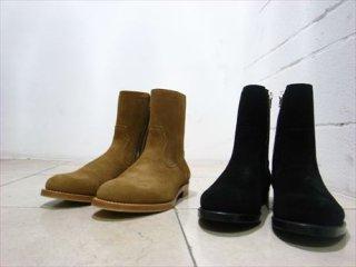 """""""UNUSED""""Zip Up Boots Beige/Black"""