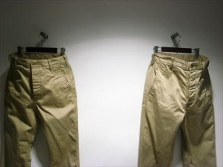 """<img class='new_mark_img1' src='https://img.shop-pro.jp/img/new/icons20.gif' style='border:none;display:inline;margin:0px;padding:0px;width:auto;' />""""UNUSED""""Wide Chino Pants"""