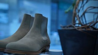 """UNUSED""(アンユーズド)Side Gore Boots/Beige for Women's"