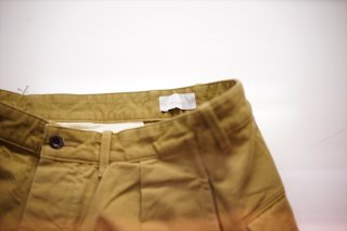 """Phlannel(フランネル)""FA-188 Basic Chino Pants/Khaki"
