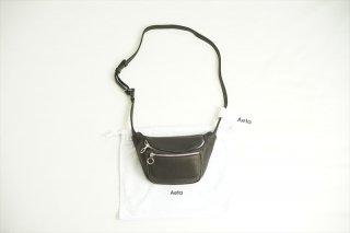 Aeta(アエタ) WAIST POUCH S/Black