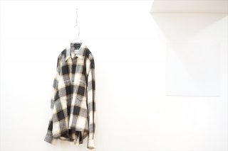 KIIT(キート)×today is a good day(トゥデーイズアグッドデー)Wool Check Shirt