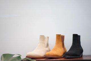 UNUSED(アンユーズド)Side gore boots
