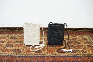 Aeta(アエタ)KG Thin Basket XS/Ivory/Black