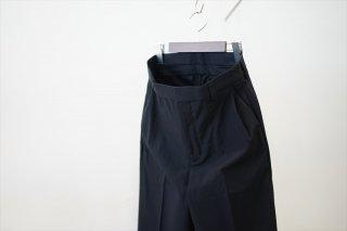 UNUSED(アンユーズド)Wool Silk Slacks/Black