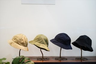 comesandgoes(カムズアンドゴーズ)Light Nylon Balloon Hat/Beige/Olive/Navy/Black/