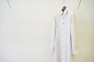 AURALEE for women(オーラリー)WOOL COTTON HEAVY MESH ONE-PIECE