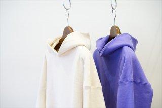 EASTFAREAST(イーストファーイースト)Model 001 Reverse Weave Hoodie/Kinari/Lavender