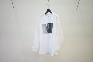 "Graphpaper(グラフペーパー) POET MEETS DUBWISE for GP Jersey L/S Tee ""SUN""/White"