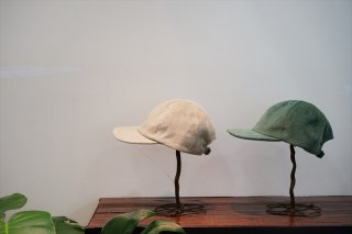 UNUSED(アンユーズド)Corduroy Cap/Beige/Light Green/