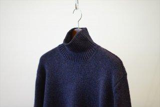 AURALEE(オーラリー)Camel Wool Mix Knit Turtle Neck P/O /Mix Black/