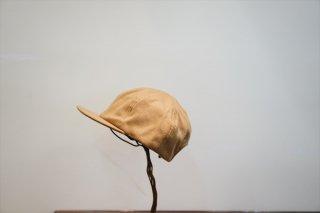 comesandgoes(カムズアンドゴーズ)Cashmere 100 Short Brim Cap/Camel