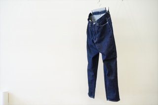 Graphpaper(グラフペーパー)for women Denim 5Pocket Pants/Indigo/(GM211-40083B)