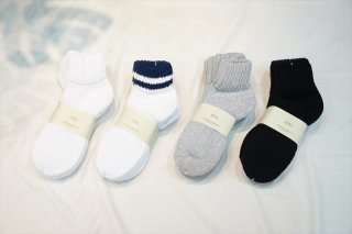 UNIVERSAL PRODUCTS(ユニバーサルプロダクツ)3P Pile Socks /White/Navy/Gray/Black/