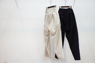 UNIVERSAL PRODUCTS(ユニバーサルプロダクツ)Big Weist Easy Slacks/Gray/Black/