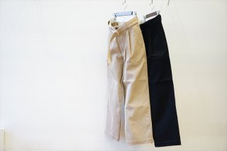 Graphpaper for women's(グラフペーパーウイメンズ) Hard Twill Belted Pants(GM211-40002B)