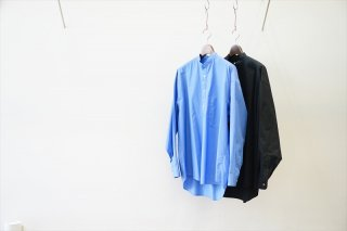 Graphpaper for women's(グラフペーパー/ウイメンズ) Broad Oversized Band Collar Pullover Shirt(GM211-50060B)