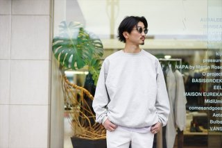 AURALEE(オーラリー)Super Soft Sweat Big P/O /Top Gray/