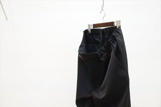 Graphparper(グラフペーパー) Selvage Wool Chef Pants/Black(GM211-40106B)