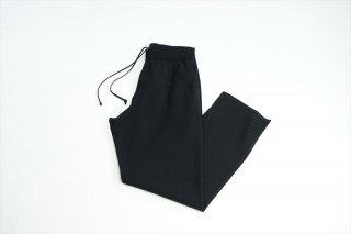 AURALEE(オーラリー)Wool Recycle Polyester High Gauge Rib Knit Pants/Black(A21SP02WW)