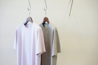 AURALEE(オーラリー)Luster Plating Tee/Light Purple/Top Gray/(A00ST02GT)