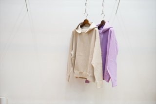 EASTFAREAST(イーストファーイースト) Model 012 Set In Baloon Hoodie/Ivory/Ajisai