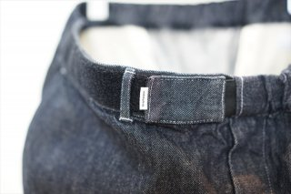 Graphpaper(グラフペーパー) Colorfast Denim Baggy Chef Pants/Indigo