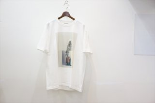 POET MEETS DUBWISE(ポエトミーツ ダブワイズ)Killiman Jah Low Works Collage 2 Inkjet T-shirt /White
