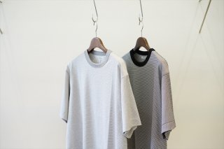 UNIVERSAL PRODUCTS(ユニバーサルプロダクツ) Border Crew Neck S/S T-Shirt