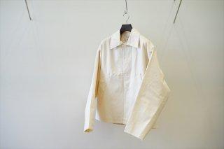 CAMIEL FORTGENS(カミエルフォートヘンス)Oversized Short Mackintosh Canvas/Off White