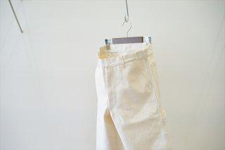 CAMIEL FORTGENS(カミエルフォートヘンス)Worker Pants Canvas/Off White