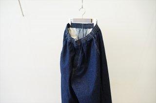 Graphpaper(グラフペーパー)Denim Baggy Pants/Indigo