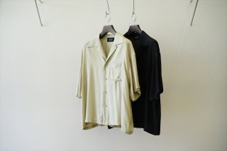 UNUSED(アンユーズド)Rayon Aloha Shirt(US2002) /Beige/Black/