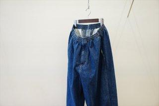 Graphpaper(グラフペーパー)Denim Baggy Pants/Fade Indigo