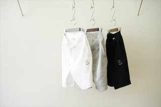 POET MEETS DUBWISE(ポエトミーツ ダブワイズ)PMD Logo Embroidery Shorts/White/M.Gray/Black/
