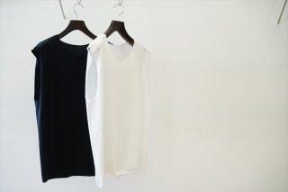 EXCLUSIVE BALUCA別注/Bulbs(バルブス)No Sleeve Tee/White/Black
