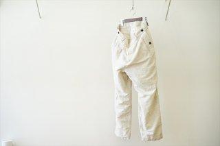 outil(ウティ)Snap Side Pocket Pants/Ecru Melange