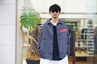 Graphpaper(グラフペーパー)Double Plain Weave Jacket(GM213-20122)