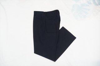 UNUSED(アンユーズド) Wool Slacks/Navy(UW1006-C002S1)